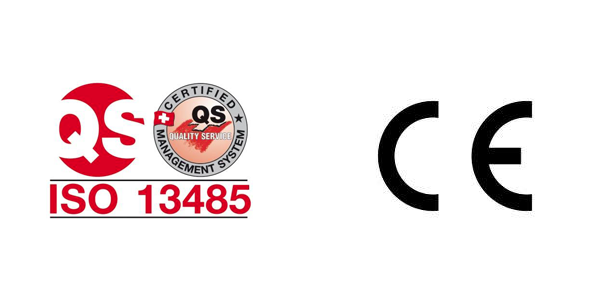 Certifications ISO 13485 and CE marking