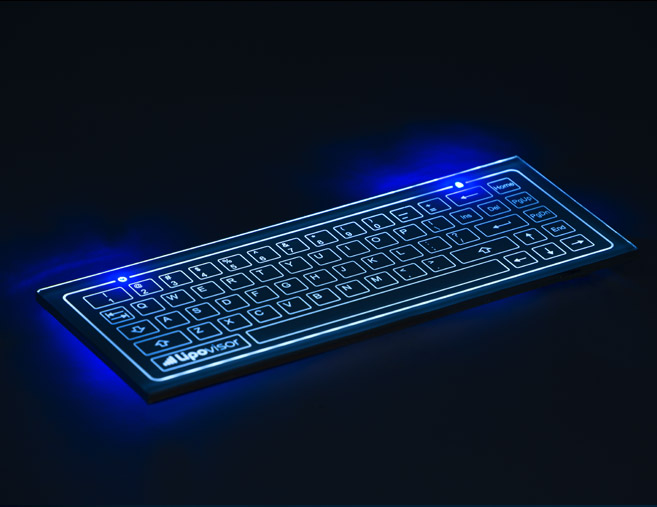 capacitive keyboard for three dimensional liposuction