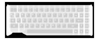 Capacitive glass keyboard