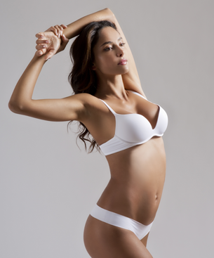 re-shaping body with liposuction